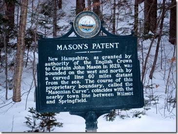 #40 Mason's Patent